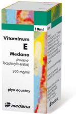 Vitaminum E Medana krople 0,3 g/1ml 10ml