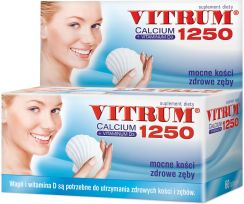 Vitrum Calcium 1250  +  Vitamina D3 60 tabletek - 0