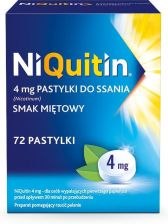 NiQuitin 4mg 72 pastylki do ssania - 0