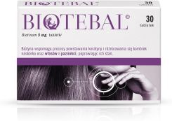 Biotebal 5mg 30 tabl.