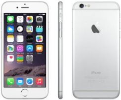 Produkt z Outletu: APPLE IPHONE 6 16GB SILVER - zdjęcie 1