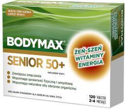 Bodymax 50 +  Senior 40 tabletek