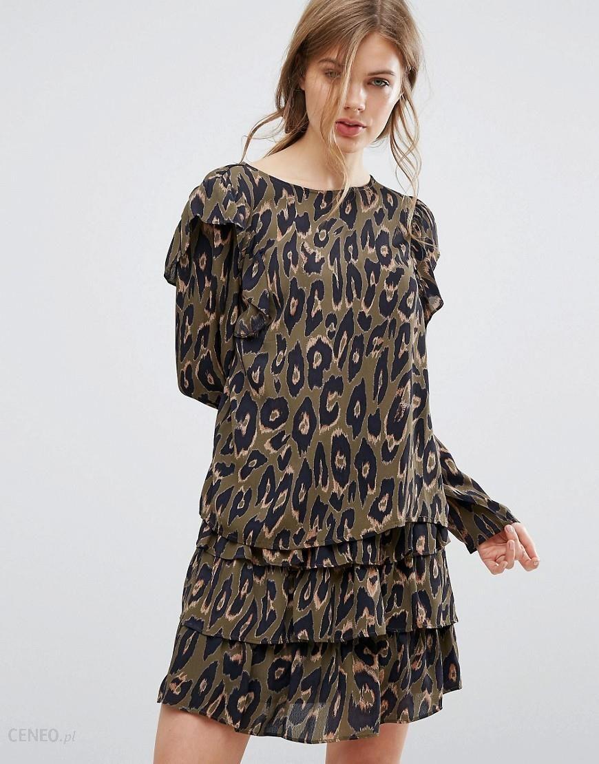 Ruffle Leopard Blouse 69