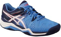 Asics Buty Tenisowe Gel-Resolution 6 Clay - Powder Blue/White/Hibiscus E553Y