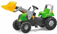 Rolly Toys Traktor Rolly Junior Z Łyżką Zielony 811038
