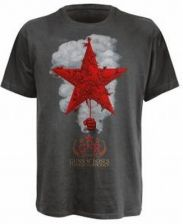 Guns N Roses - Star With Smoke S (grey T-shirt)
