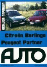Citroen Berlingo Peugeot Partner. Obsługa i naprawa