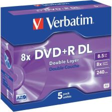 Verbatim DVD+R 8.5GB 8x Jewel Case 1szt