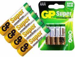 GP Super Alkaline AAA/LR03 (24A-U4)
