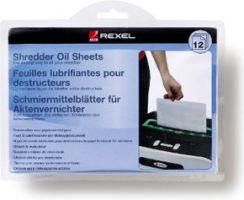 REXEL Arkusze olejowe do niszczarek - 12 szt.