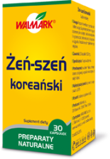 Walmark Żeń-szeń koreański 30 kaps