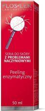 FlosLek Peeling enzymatyczny do skóry z problemami naczynkowymi 50 ml