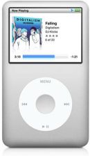 Apple iPod Classic 160GB 5gen Srebrny (MC293)