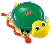 Fisher Price Żółwik Tamburyn K4050