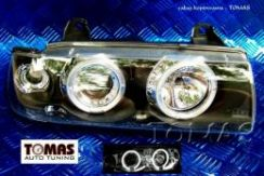 Lampy Angel Eyes Black Bmw E36 Sedan - 0