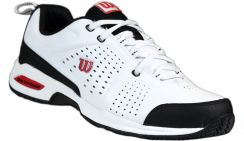 Buty Tenisowe Wilson Pro Staff Open White/Black/Red Tbw-012 Męskie