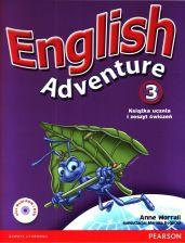 English Adventure 3 Podręcznik i zeszyt ćwiczeń z 2 CD i DVD