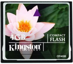 Kingston Standard CompactFlash 4GB (CF/4GB) - zdjęcie 1