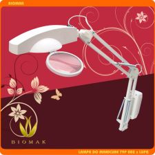 Biomak Lampa do manicure 002 z Lupą (15412)