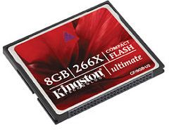 Kingston Ultimate CompactFlash 8GB 266x (CF/8GB-U2)