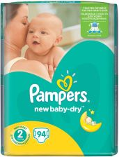 Pampers New Baby-Dry 2 Mini (3-6kg) 94szt.