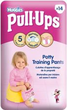 Huggies Pull-Ups Girl Pants L (14-18Kg) 14Szt