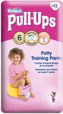 Huggies Pull-Ups Girl Pants Xl (17Kg+) 12Szt