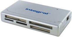 Integral 17in1 Card reader USB 2 incl XD. INCRMULTI