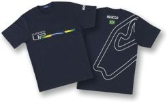 T-shirt Sparco Warm-Up Brazil