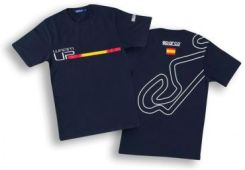 T-shirt Sparco Warm-Up Barcelona