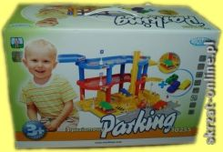 Mochtoys Parking 3 Poziomy Z Autkami 10255