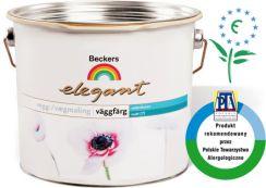 Beckers WHITE-Elegant Vggfrg Matt [7] wodorozcieńczalna, lateksowa farba akrylowa. Półmat. 10l