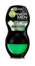 Garnier MEN Mineral INVISIBLE 48h Dezodorant roll-on 50 ml