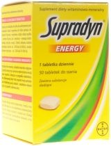 BAYER SUPRADYN ENERGY 50 TABL. DO SSANIA