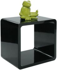 KARE design Lounge Cube MDF Black 71541