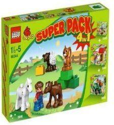 Lego Duplo Zwierzeta zestaw 4w1 6634