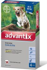 Bayer Advantix 25 40Kg 4x4ML