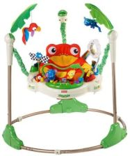 Fisher Price Huśtawka Skoczek Rainforest Jumperoo K6070 - 0