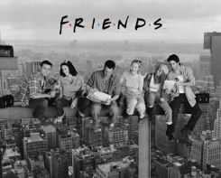Friends (Lunch On A Skyscraper) - plakat