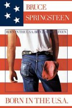 Bruce Springsteen (Born In The U.S.A) - plakat