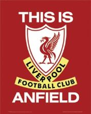 Liverpool this is anfield - plakat