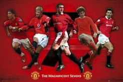 Manchester United (The Magnificent Sevens) - plakat