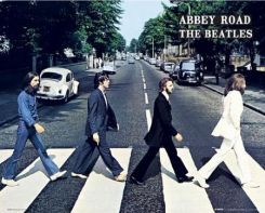 The Beatles (Abbey road) - plakat