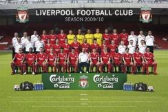 Liverpool Team Photo 09/10 - plakat