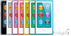 Apple iPod Nano 5gen 16GB Srebrny (MC060)