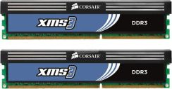CORSAIR PC XMS3 8GB (2x4GB) DDR3 1333 PC3 10666 CL9 (CMX8GX3M2A1333C9)