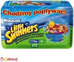 Huggies Majteczki Little Swimmers Small (7-12Kg) 12Szt