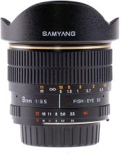 Samyang 8mm f/3.5 Asph IF MC Fisheye Samsung NX