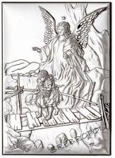 Obrazek Srebropol Anioł stróż z dziećmi 18011/1L