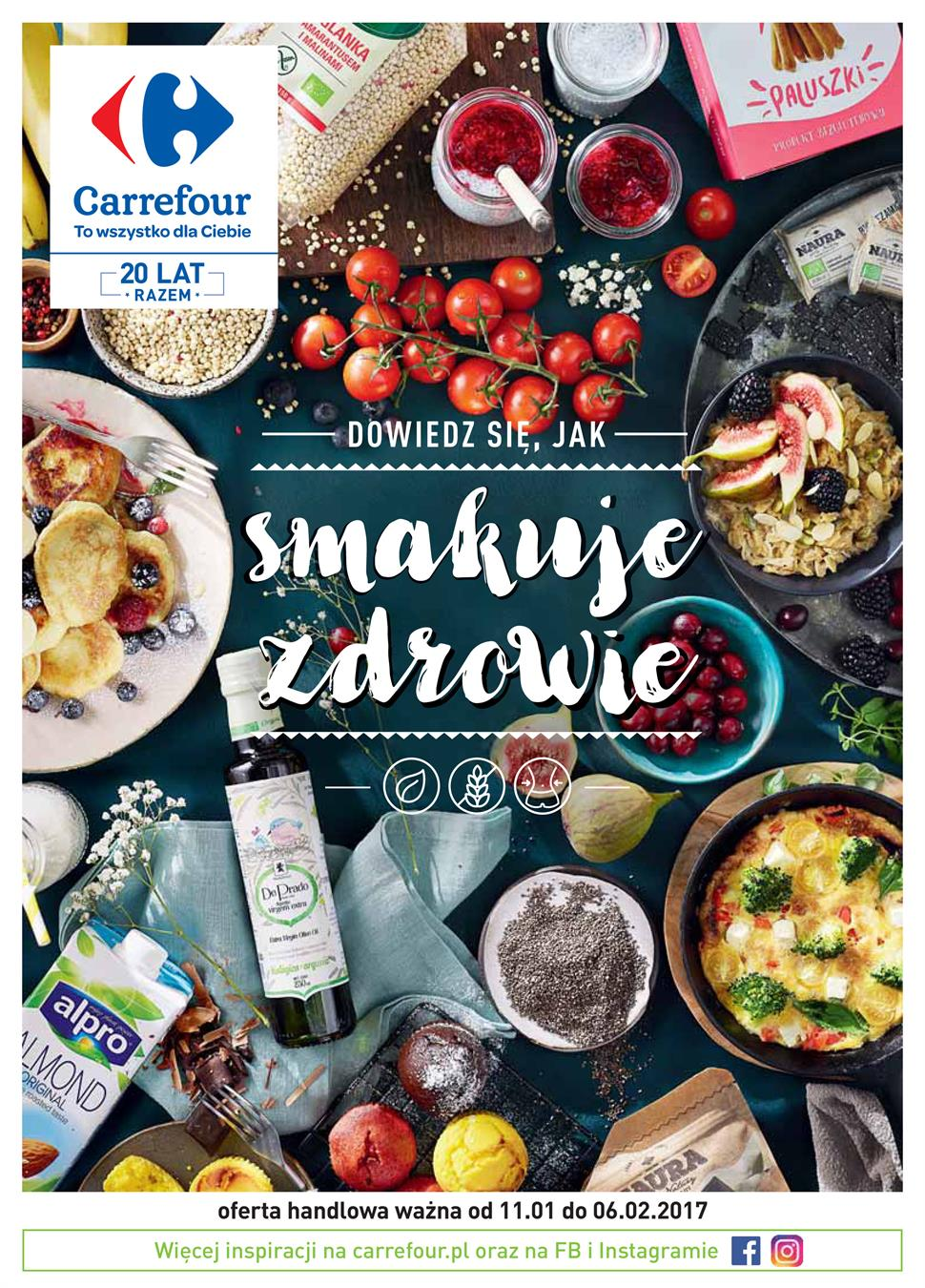 Gazetka Carrefour Polska Sp. z o.o. nr 8 od 2017-01-11 do 2017-02-06
